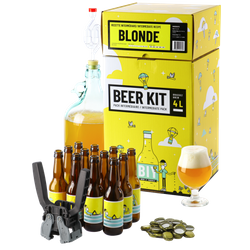 All-Grain Beer Kit - Complete Beer Kit, I brew a blond beer