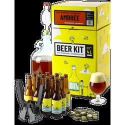 Vollkornbier-Kit - Fortgeschrittenes Braukit: Ich braue und fülle ein Amber-Bier ab