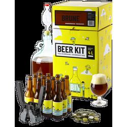 Vollkornbier-Kit - Bierbrauerei-Paket: Ich braue ein Braunes Bier