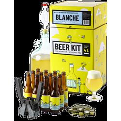 Vollkornbier-Kit - Beer Kit Intermédiaire, je brasse et j'embouteille une bière blanche