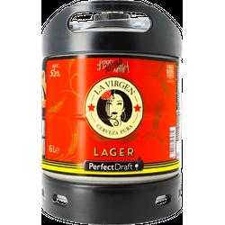 Kegs - La Virgen Madrid Lager 6 litre PerfectDraft Keg