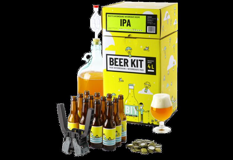 Kit ricette per tutti i grani - Kit di birra intermedio COMPLETO - IPA