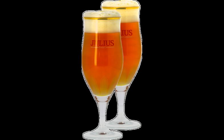 Biergläser - Pack 2x 33cl Hoegaarden Julius Gläser
