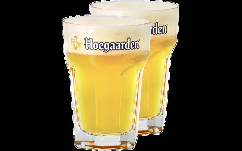 Biergläser - Pack 2x 25cl Hoegaarden Gläser