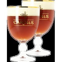 Verres à bière - Pack 2 verres Gouden Carolus - 25 cl