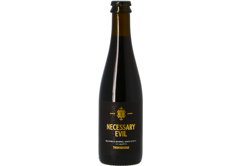 Flaskor - Thornbridge Necessary Evil - Bourbon Barrel Aged