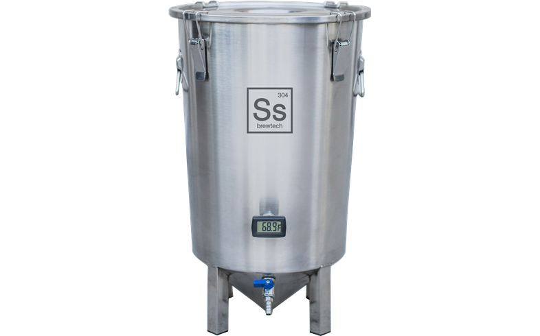Outils de mesure - Ss Brewtech - 7 gallons Brew Bucket Brewmaster Edition Celcius/ Cuve de fermentation inox 26,5 L Edition Celsius