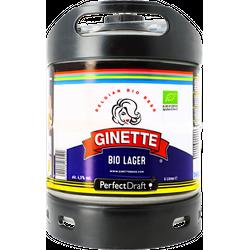 Fässer - Ginette Organic Lager PerfectDraft Fass 6 liter - Mehrweg
