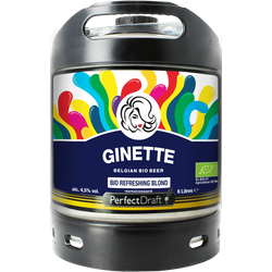 Kegs - PerfectDraft 6L Ginette Refreshing Blonde Bio