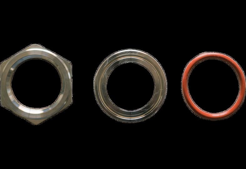 "Accessoires du brasseur - Bulkhead - Compression Fitting 1.5"" TC for Brew Bucket - Ss Brewtech"