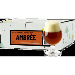 Kit à bière tout grain - Recette Bière Ambrée - Recharge pour Beer Kit Confirmé