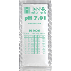Brewer s accessories - Solution tampon pH 7,01 - sachet de 20 mL