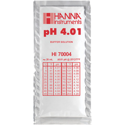 Brewer s accessories - Solution tampon pH 4,01, sachet de 20 mL