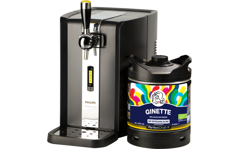 Beer dispensers - PerfectDraft Ginette Refreshing Blonde Bio Dispenser Pack