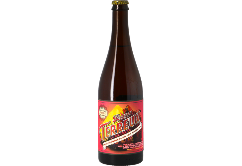 Bouteilles - The Bruery Terreux Frucht : Pineapple, Dragon Fruit & Prickly Pear
