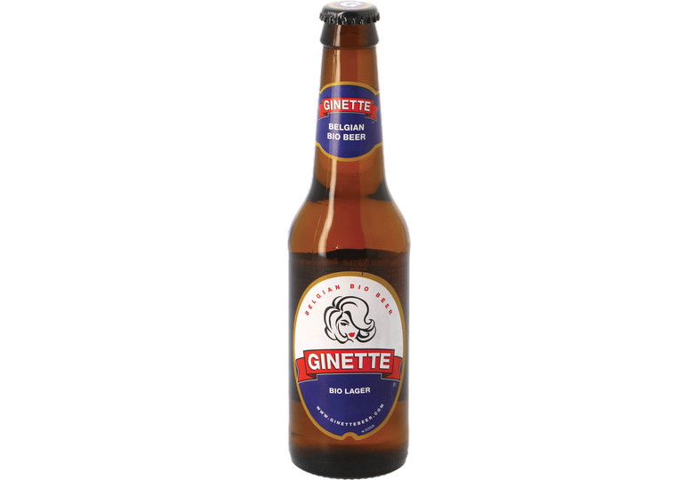Bottled beer - Ginette Natural Lager Bio