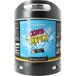 Fusti - Fusto Tiny Rebel Clwb Tropica PerfectDraft 6L