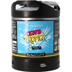 Tapvaten - Tiny Rebel CLWB Tropica IPA PerfectDraft Vat 6L