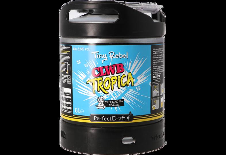Fusti - Fusto Tiny Rebel Clwb Tropica PerfectDraft 6L