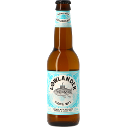Bottled beer - Lowlander 0,00% Wit