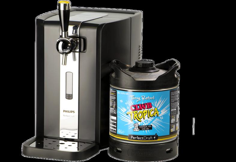 Beer dispensers - PerfectDraft Tiny Rebel Clwb Tropica Dispenser Pack