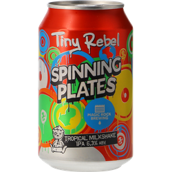 Botellas - Tiny Rebel / Magic Rock Spinning Plates