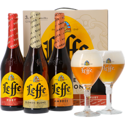Geschenke - Leffe Selection Giftpack - 3x75cl