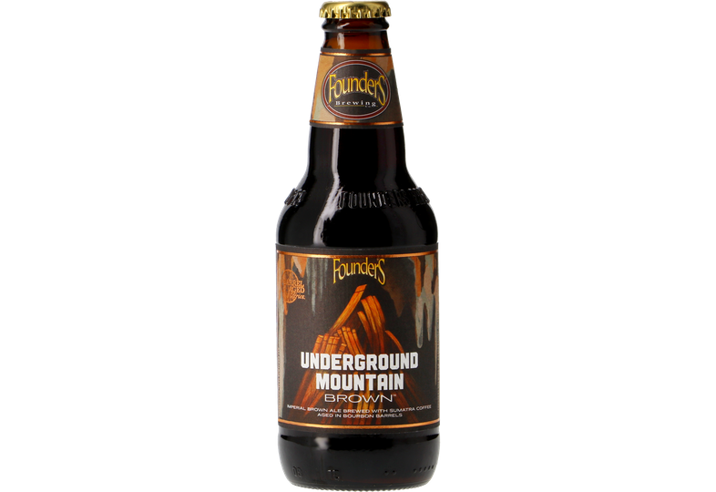 Bouteilles - Founders Underground Mountain Brown