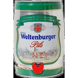 Kegs - keg 5L Weltenburger Pils