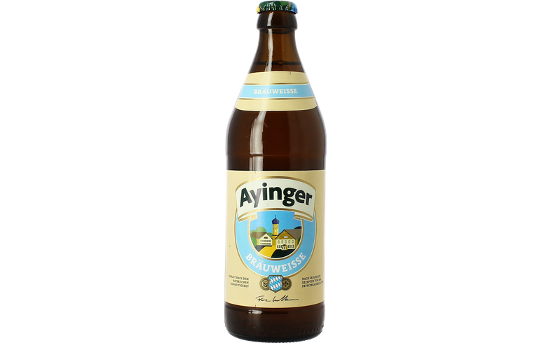Bottled beer - Ayinger Bräu-Weisse