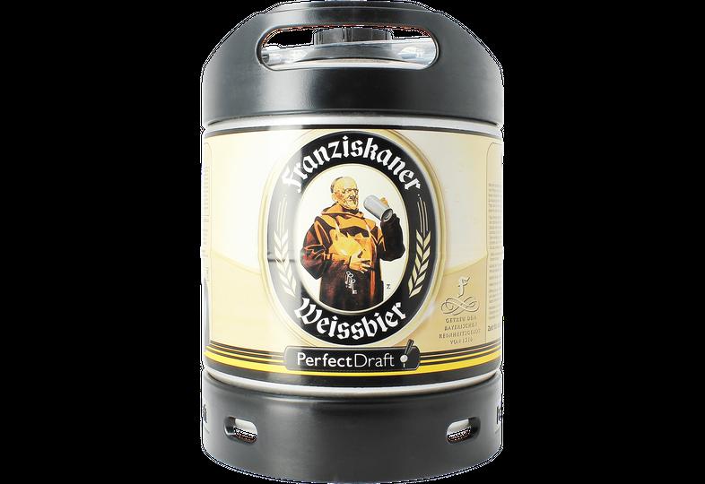 Fatöl - Franziskaner Weissbier 6L Perfectdraft Fat