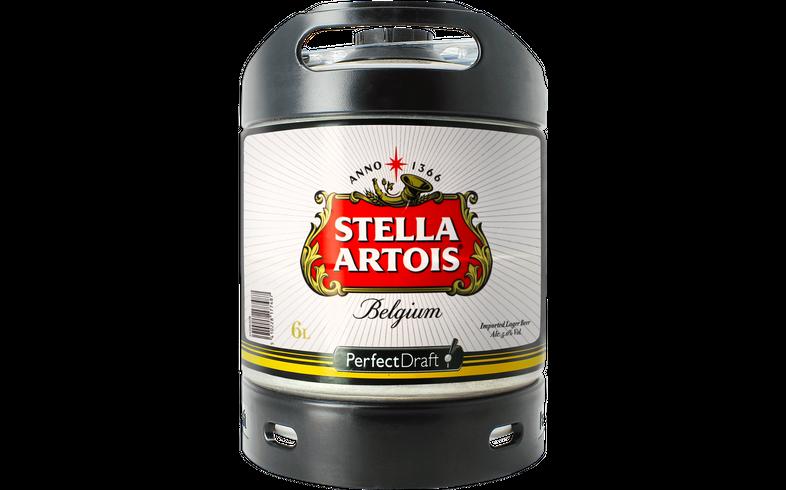 Tapvaten - PerfectDraft Stella Artois Vat 6L - 5 EUR Statiegeld