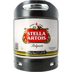 Fatöl - Stella Artois 6L PerfectDraft Fat
