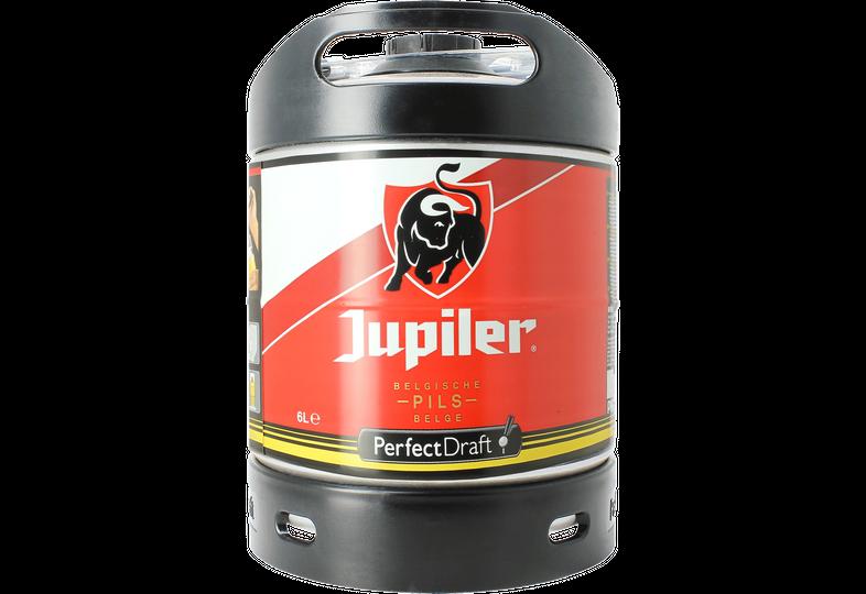 Fässer - Jupiler Pils PerfectDraft Fass 6 liter - Mehrweg