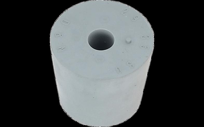 Dames-Jeannes - Bouchon en caoutchouc 29 à 35 mm + trou de 9 mm
