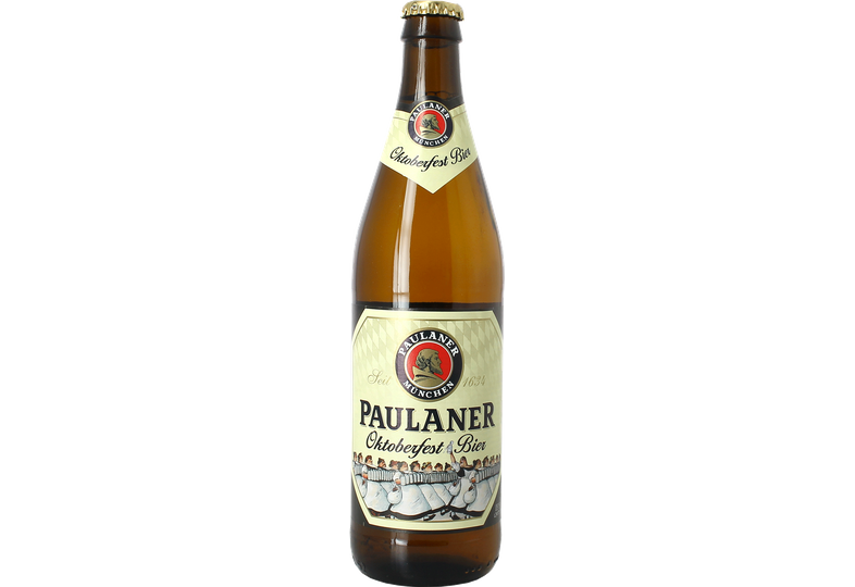 Bottled beer - Paulaner Oktoberfest Bier