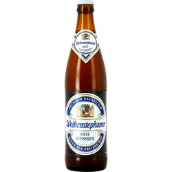 Bottled beer - Weihenstephan Hefe Weissbier 50 cl