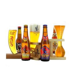 Gåvoboxar - Gift Pack 3 Unique Beer Glasses + 3 Beers
