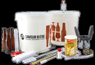Kit de brassage Débutant Deluxe Bière Blonde pour kit à bière Pilsner