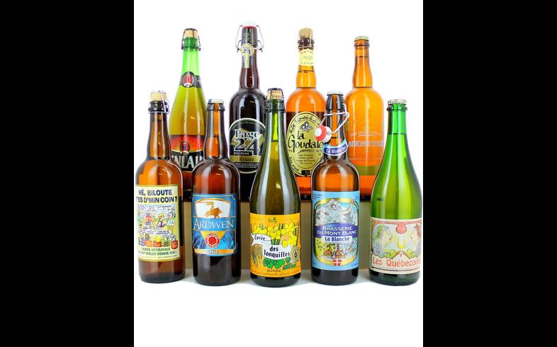 Pack de cervezas artesanales - Assortiment les Grandes Bouteilles Françaises