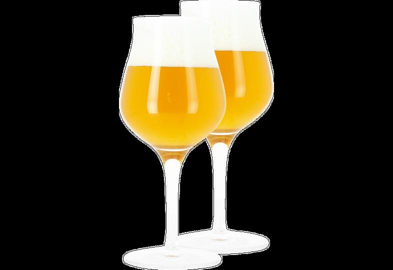 Beer glasses - 2 Blank Sensorik glasses - 42 cl
