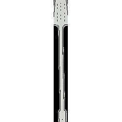 Accessoires du brasseur - Spatule en plastique 52 cm