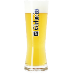 Beer glasses - Glasse Edelweiss - 50 cl