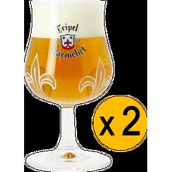 Ölglas - 2 Karmeliet 20cl glasses