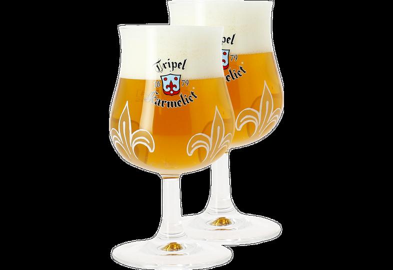 Biergläser - 2 Karmeliet 20 cl Glases