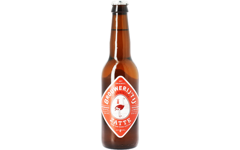 Bottled beer - 't IJ Zatte Tripel