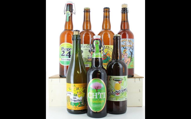 Pack de cervezas artesanales - Assortiment Bière de Printemps