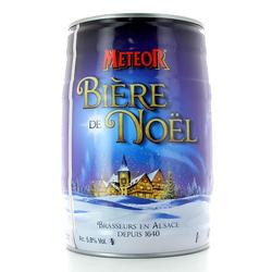 Fûts de bière - Fût 5L Meteor de Noël