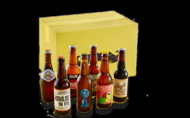 Startsida - Monthly Discovery Box