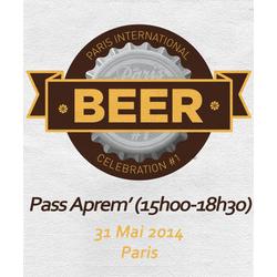 Tickets Paris Beer Week - Ticket aprem' 31/05 Paris International Beer Celebration